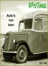 Auto's van toen