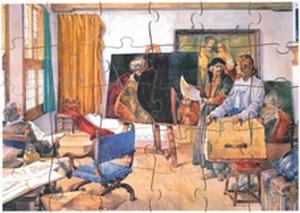 A3 Schoolplaatpuzzel Rembrandt