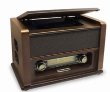 Nostalgische radio met cd-speler