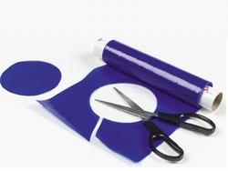 Antislip op rol, blauw 20 cm breed