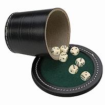 Pokerbeker, deksel dobbbelstenen