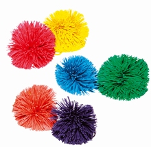 Enkelkleurige Kooshballen