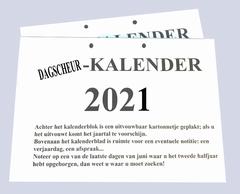Dagscheur-Kalender 2020
