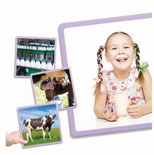 Fotokaarten productieproces voedingsmiddelen