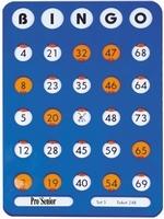 Bingo schuifplankje
