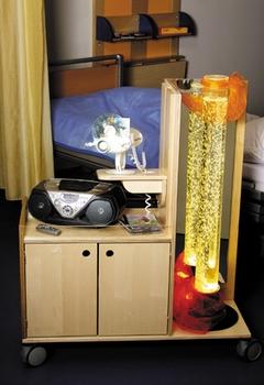 Projector-trolley met basisuitrusting