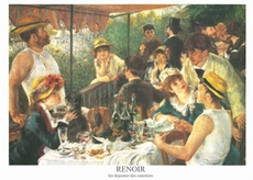 A3 voorbeeldplaat puzzel Renoir, gelamineerd