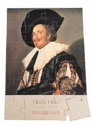 A3 puzzel Frans Hals De Lachende Cavalier
